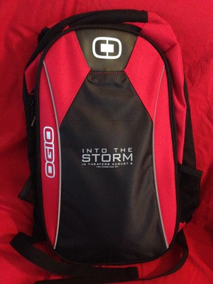 Into the Storm Backpack with Emergency Supplies