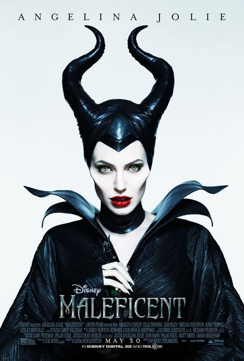 Maleficent Angelina Jolie Poster