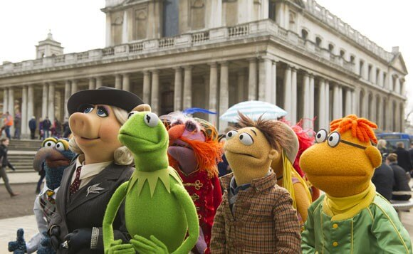 Muppets Most Wanted Kermit the Frog Interview
