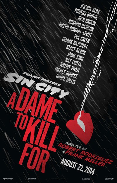 Sin City A Dame to Kill For Trailer and Poster