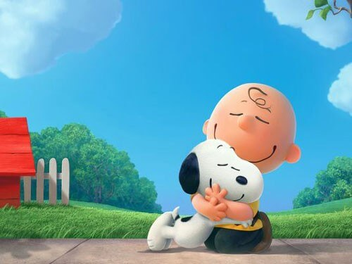 Charlie Brown and Snoop Peanuts Movie Photo