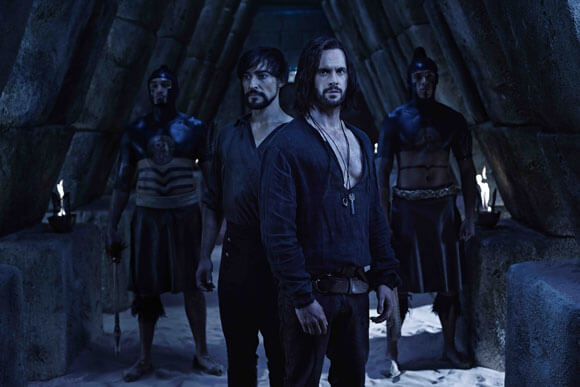 Tom Riley Interview Da Vincis Demons