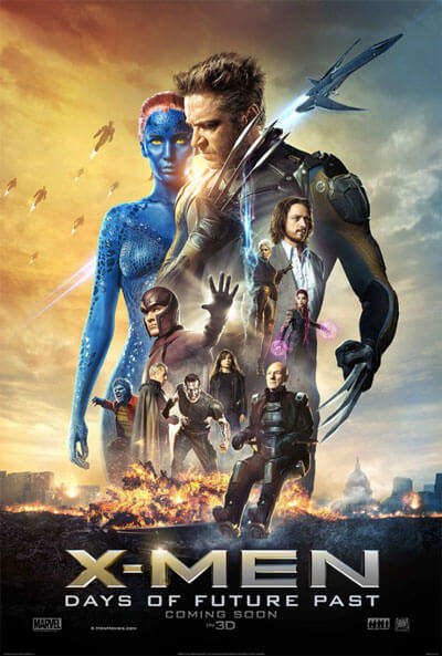 X-Men Days of Future Past Trailer and Poster