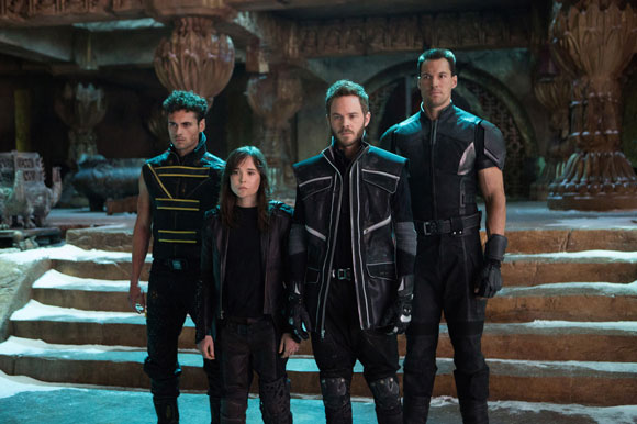 X Men Days of Future Past Opening Battle Sequence