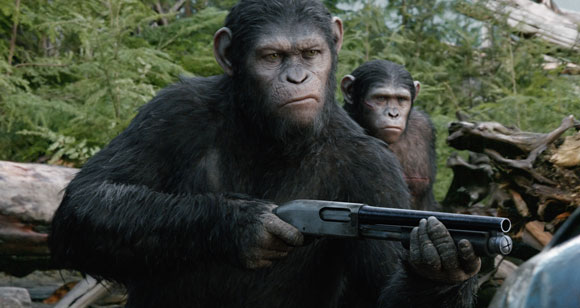 Dawn of the Planet of the Apes Clip