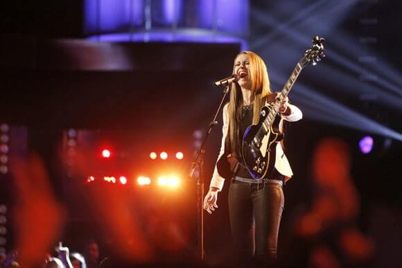 Bria Kelly performs Wild Horses on 'The Voice'