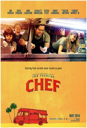 Chef Trailer and Theatrical Poster