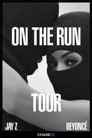 On the Run Beyonce and Jay Z Tour