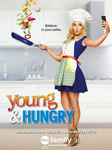 ABC Family's Young and Hungry Poster