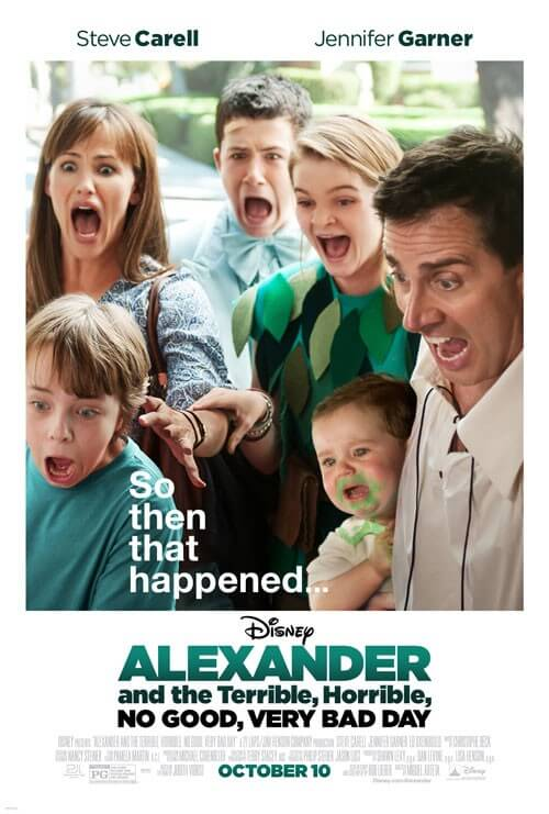 Alexander and the Terrible, Horrible, No Good, Very Bad Day Poster and Photos