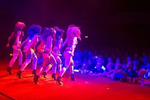 SuicideGirls Blackheart Burlesque at Comic Con