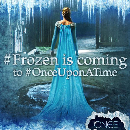 Elsa from Frozen is coming to Once Upon a Time