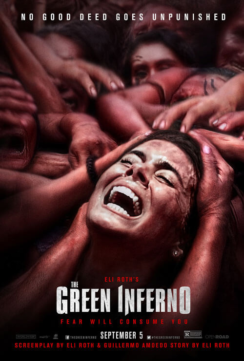 The Green Inferno Poster and Trailer