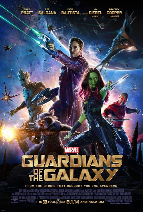 Guardians of the Galaxy Poster and Q&A