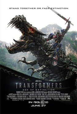 Imagine Dragons contributes to Transformers: Age of Extinction