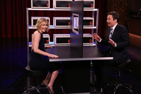 Jennifer Lawrence and Jimmy Fallon Play the Lying Game