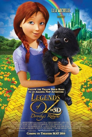 Lea Michele Interview on Legends of Oz: Dorothy's Return