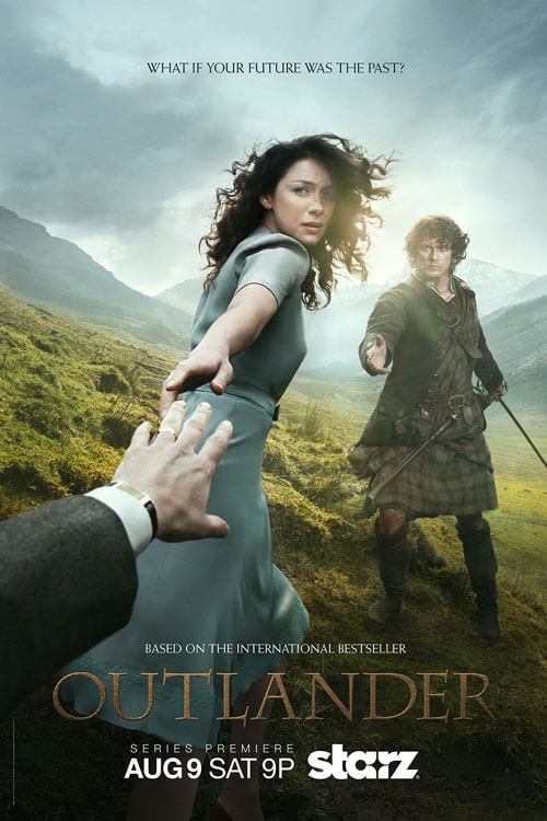 Outlander Poster and Premiere Date
