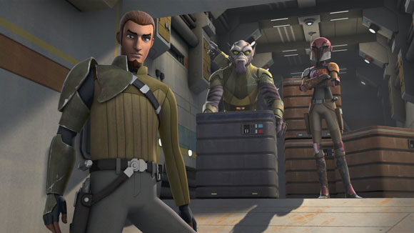 Star Wars: Rebels Trailer and Photos