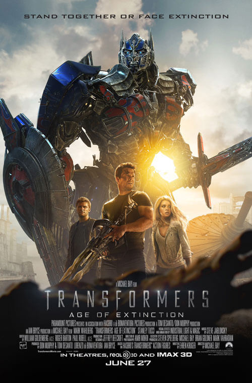 Transformers: Age of Extinction trailer and poster