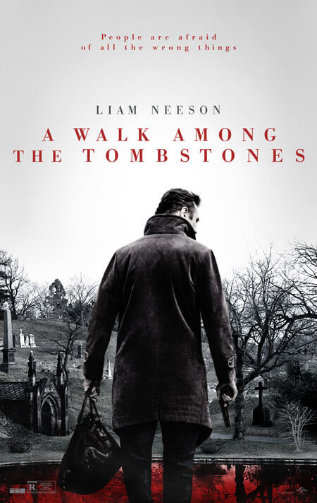 A Walk Among the Tombstones Poster and Trailer