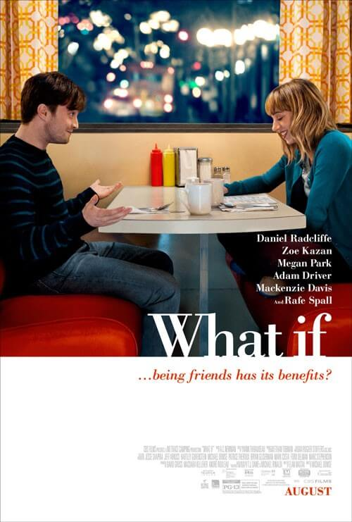 What If movie poster with Daniel Radcliffe and Zoe Kazan