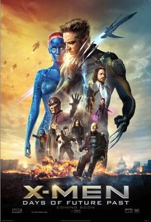 X-Men Days of Future Past Mystique Clip