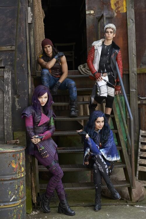 First photo from Descendants