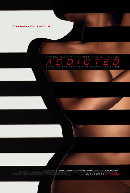 Addicted Trailer and Poster