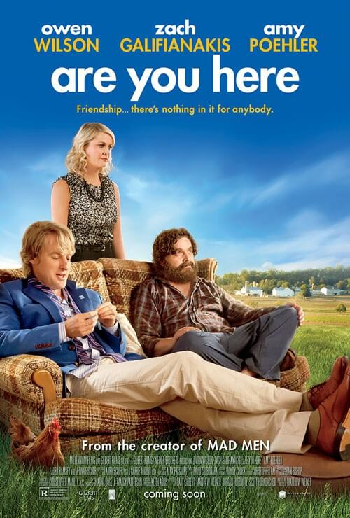 Are You Here Trailer and Poster