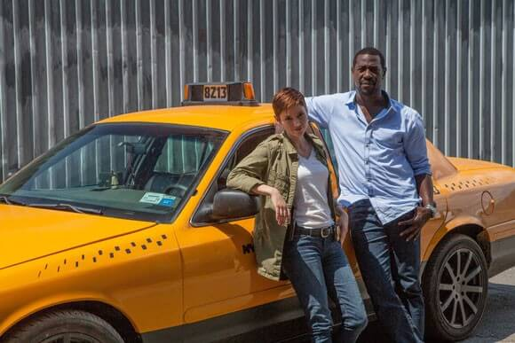 Chyler Leigh and Jacky Ido Taxi Brooklyn Interview