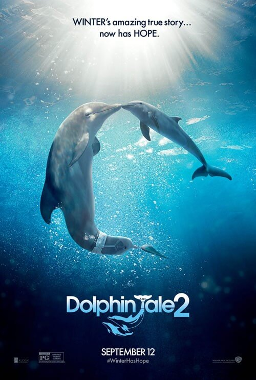 Dolphin Tale 2 Poster and Trailer