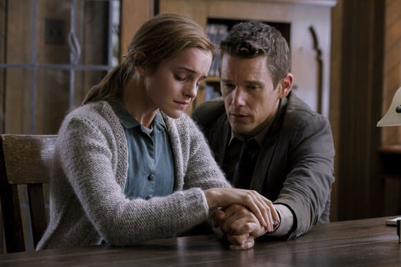 First Photo from Regression with Emma Watson and Ethan Hawke