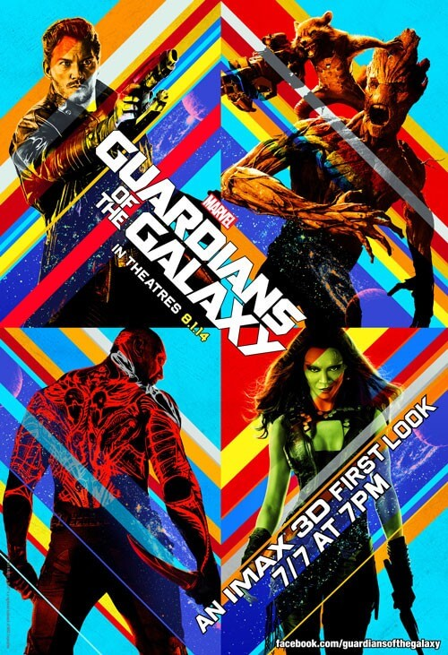 Guardians of the Galaxy 3D First Look