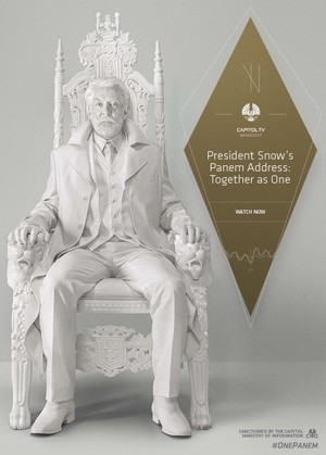 President Snow's Address Mockingjay
