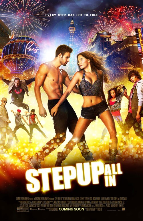 Poster for 'Step Up All In'