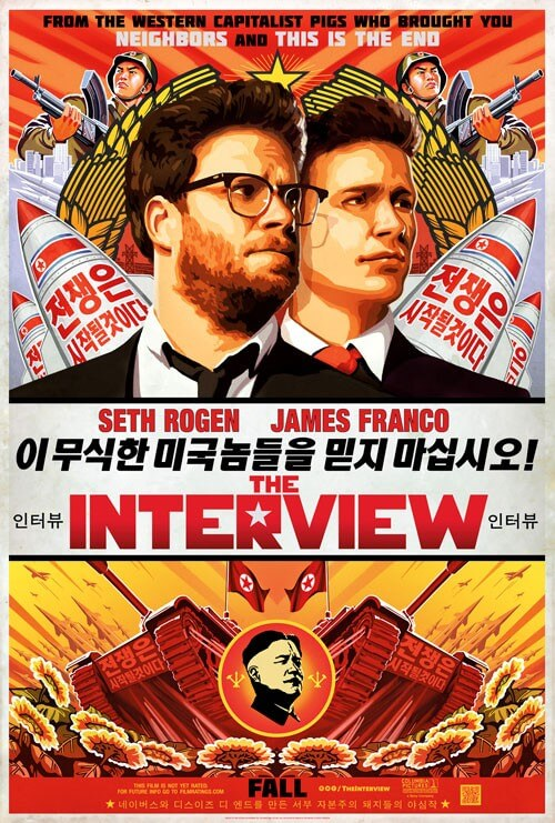 The Interview Poster and Trailer