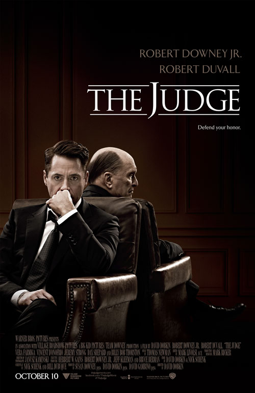 The Judge Poster and Trailer