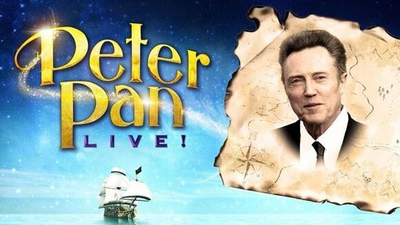 Christopher Walken Joins Peter Pan Live