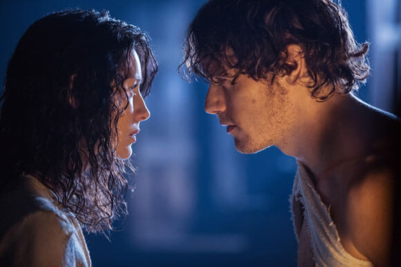 Caitriona Balfe and Sam Heughan Outlander Interview