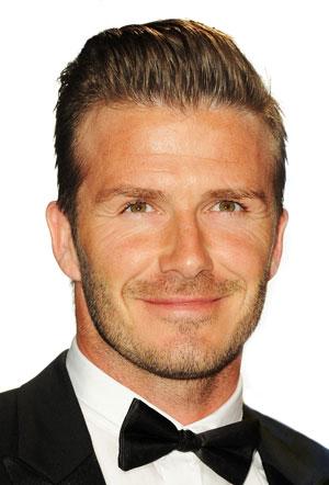 David Beckham Earns Kids Choice Sports Award