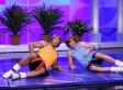 Jimmy Fallon and Dwayne Johnson Workout skit