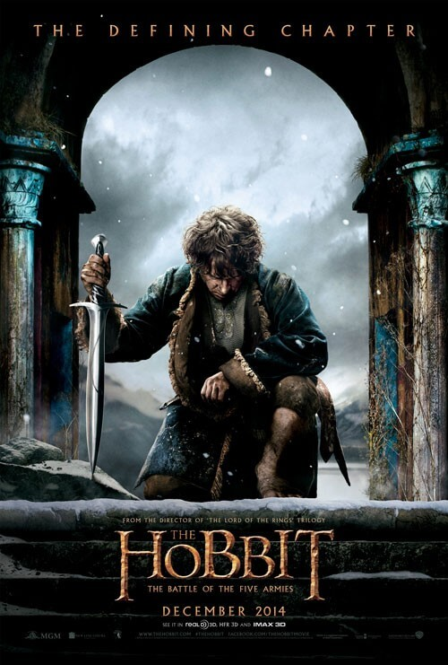 The Hobbit: The Battle of Five Armies Poster and Teaser Trailer