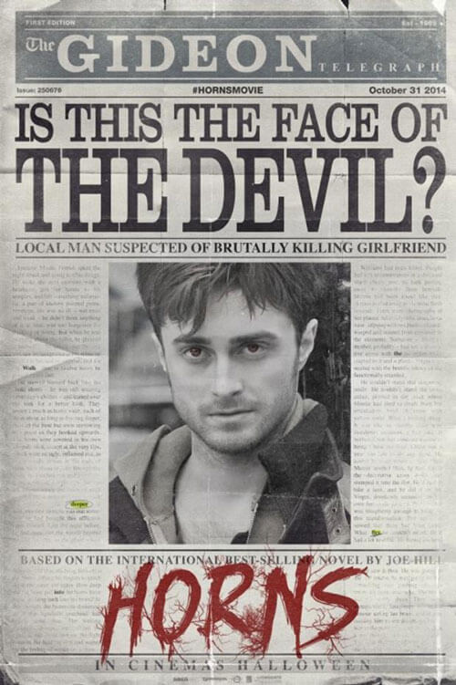 Horns Poster and Trailer
