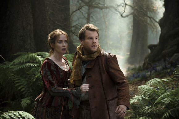 Into the Woods Emily Blunt James Corden