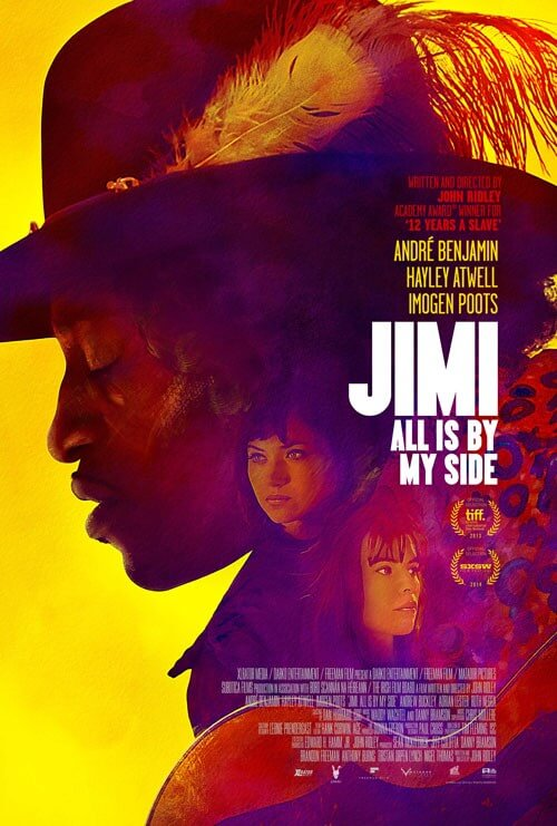 Jimi All is By My Side Poster