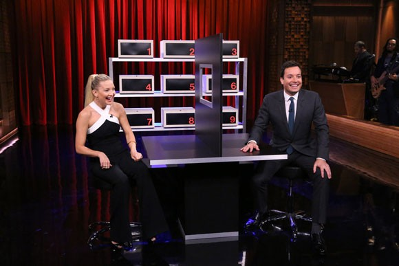 Kate Hudson and Jimmy Fallon Box of Lies Game