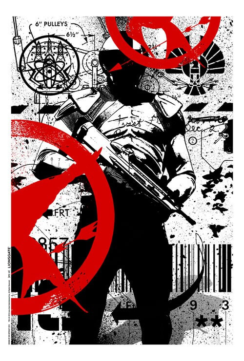 The Hunger Games Mockingjay Part 1 Comic Con Poster