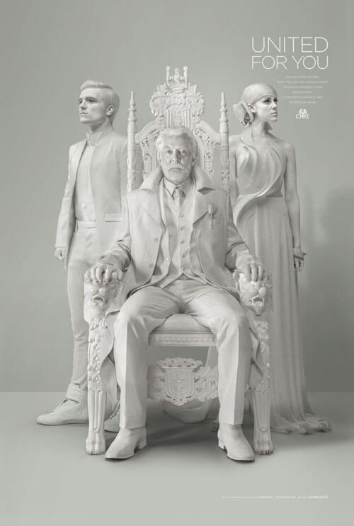 Hunger Games Mockingjay President Snow Message