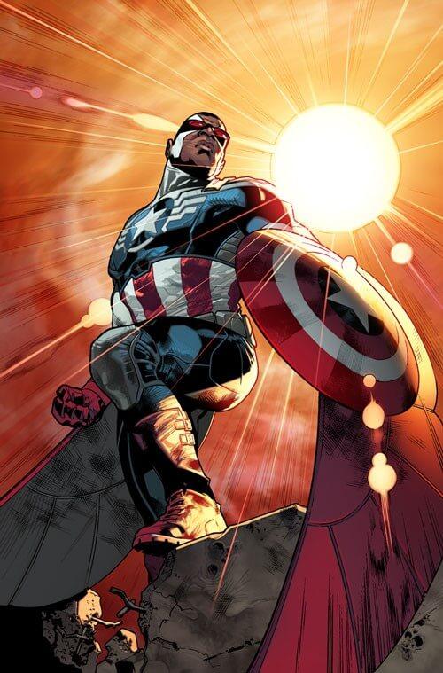 The New Captain America is Sam Wilson